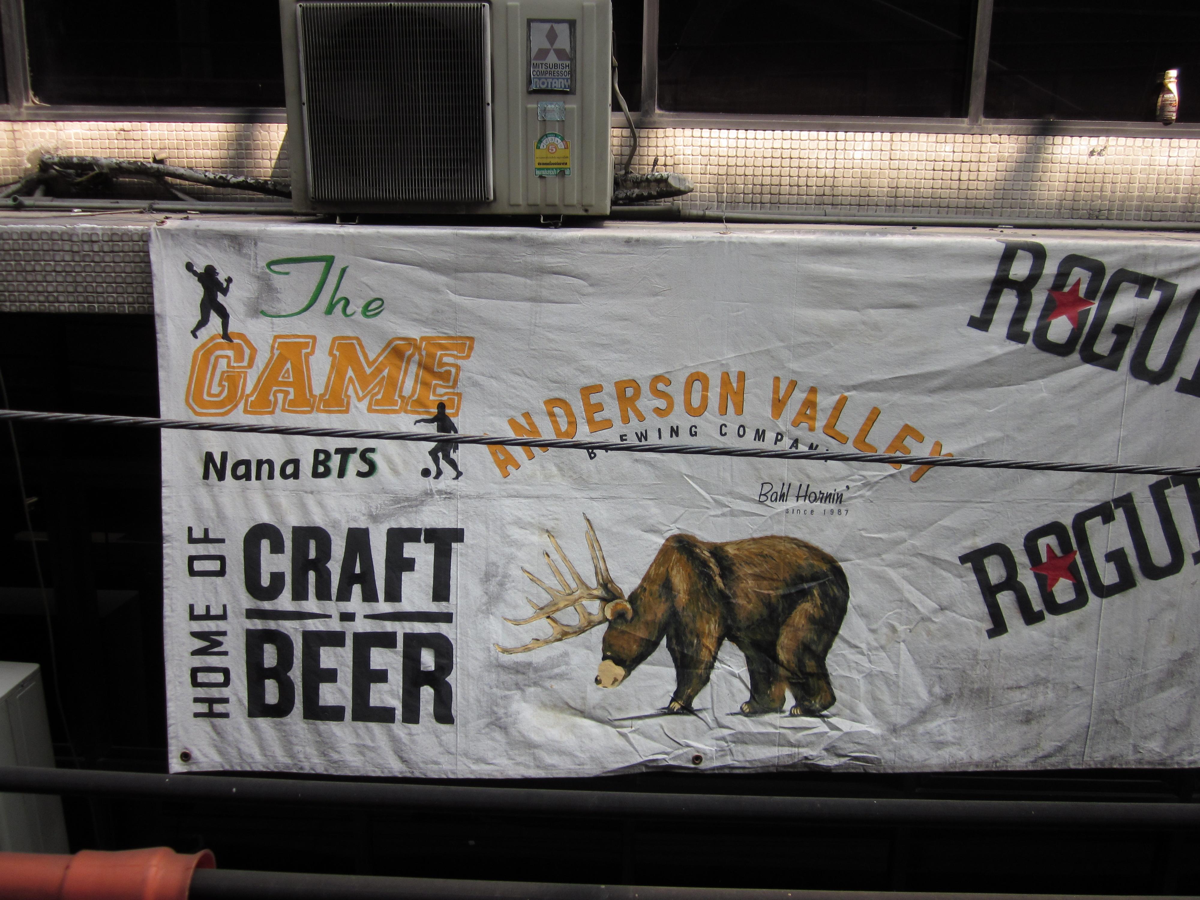 Deze tent heet The Game, je verwacht craft bier. Mooi niet dus