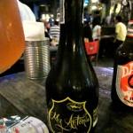 Birra del Borgo, My Antonia met een glas op een Heineken viltje
